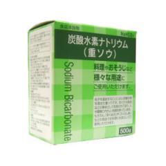炭酸水素ナトリウム (重ソウ) 【第3類医薬品】